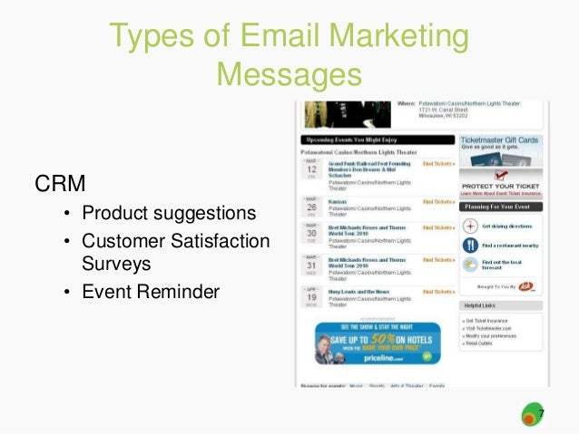 Social Media + Email Marketing slideshare - 웹