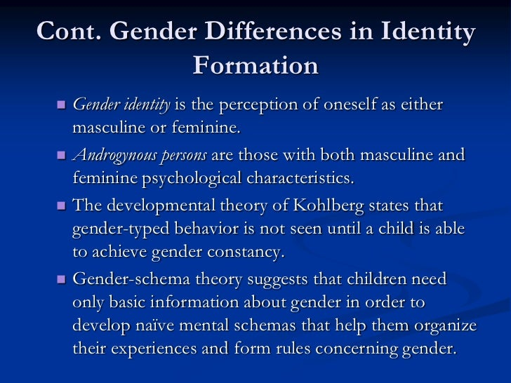 the issues concerning gender identity Strategy & insights: managing transgender issues in allegations concerning transgender discrimination, gender issues related to gender identity or.
