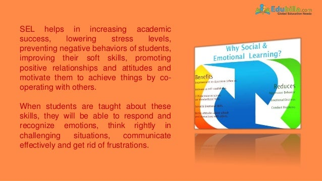 When Social And Emotional Learning Is >> Social And Emotional Learning