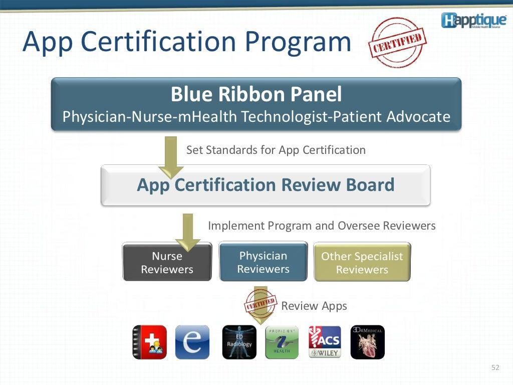 App Certification Program Blue Ribbon