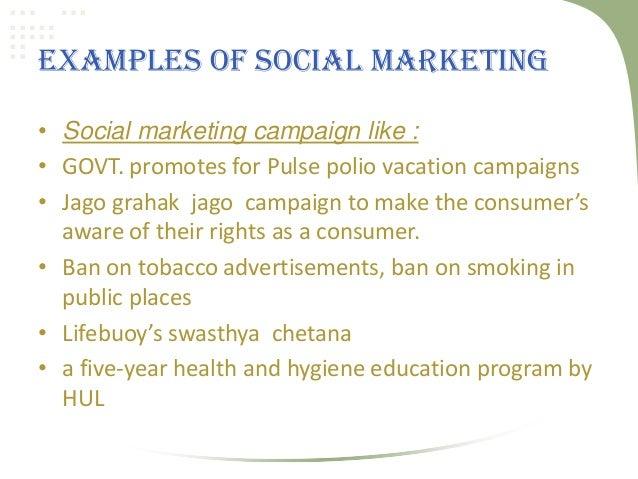 Social and societal marketing