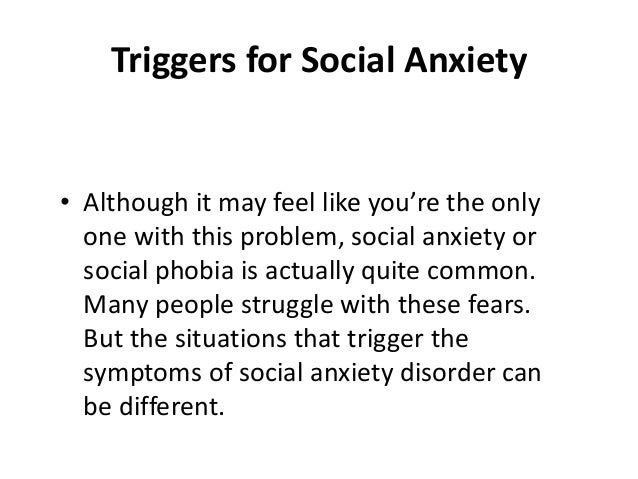 how to help social anxiety