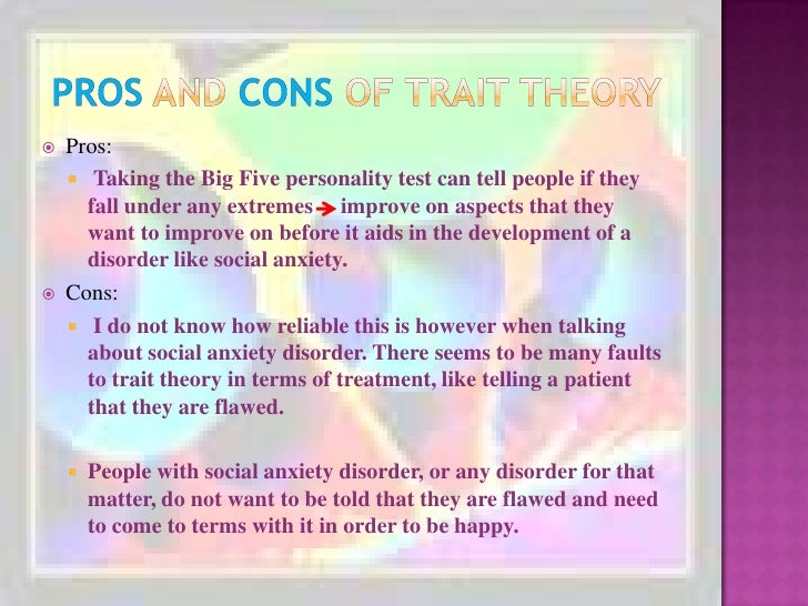 Pros and cons to social theory conflict