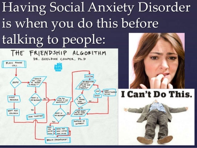 Dating someone with social anxiety disorder