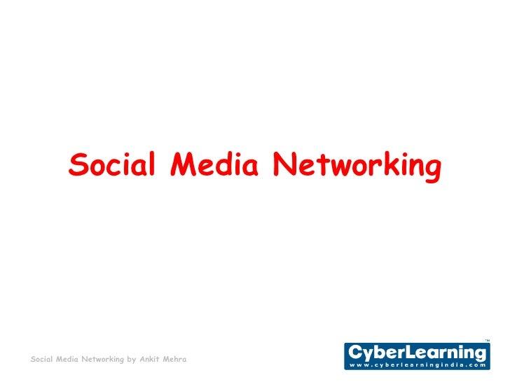 Social Media Networking<br />