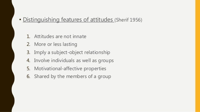 importance of social attitude