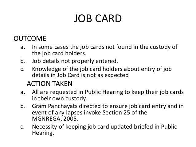 Social Audit in MGNREGA West Bengal on business card form, time card form, insurance card form, planning form, bin card form, job card size, employment application form, name card form,