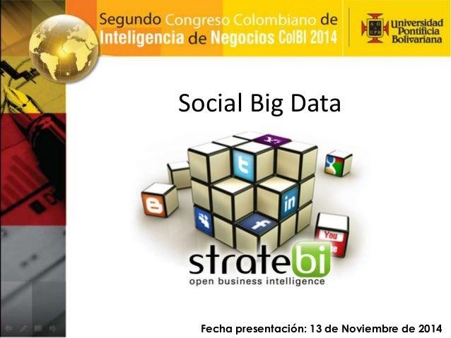 Social Big Data Intelligence
