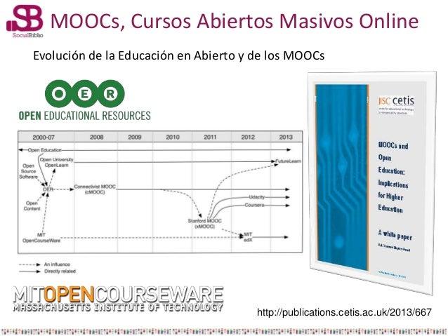 Los MOOCs, Cursos Abiertos Masivos Online: un fenómeno poliédrico Slide 2