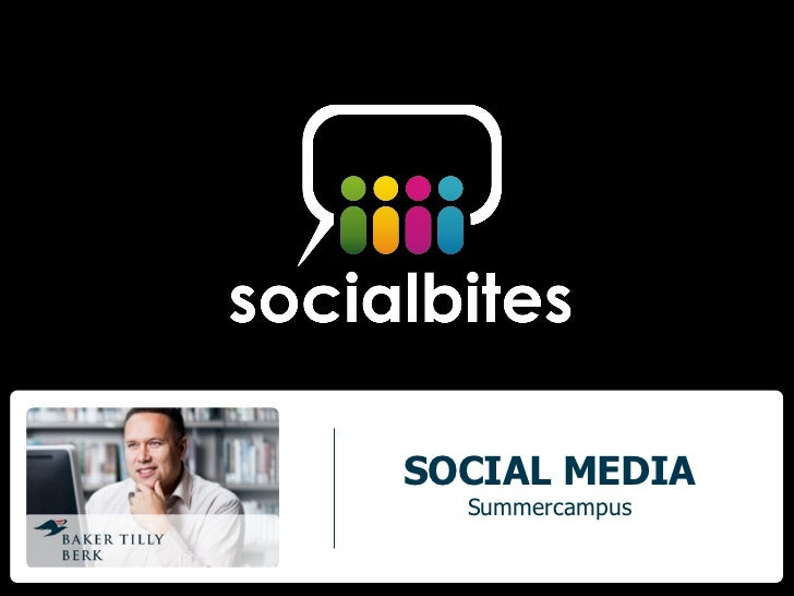 SOCIAL MEDIA  Summercampus