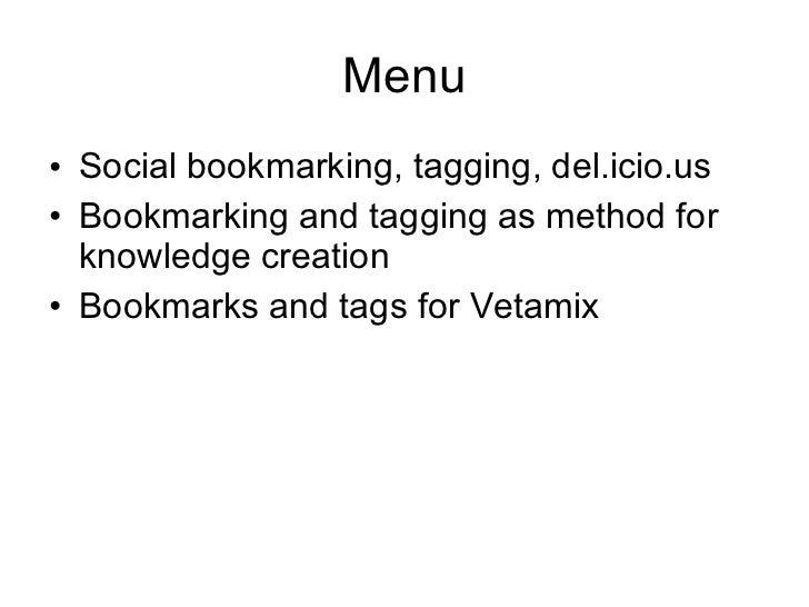 Social Bookmarking Slide 2