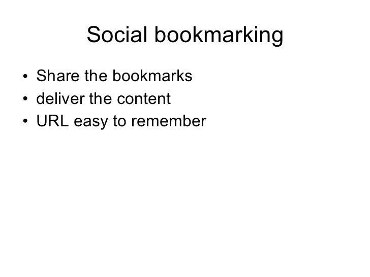 Social Bookmarking Slide 3