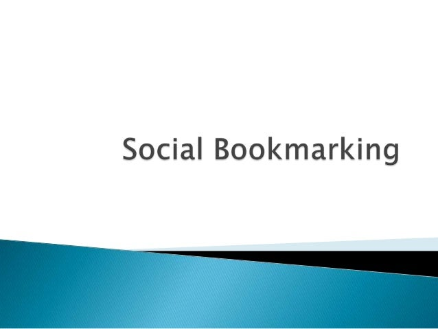   Social bookmarking - a method of marking, categorizing, and retrieving important URLs. del.icio.us offers a number of i...