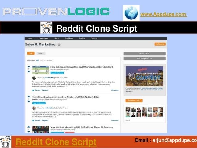 www.Appdupe.com Reddit Clone Script Email : arjun@appdupe.co Reddit Clone Script