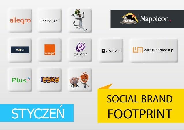 STYCZEŃ  SOCIAL BRAND  FOOTPRINT