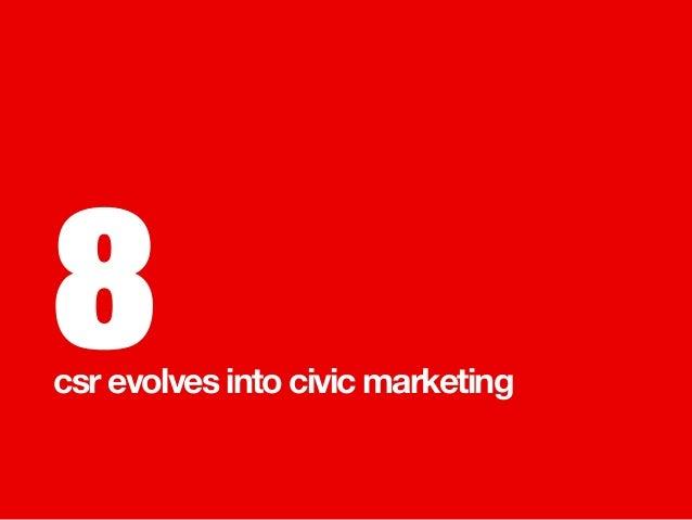 8 csr evolves into civic marketing