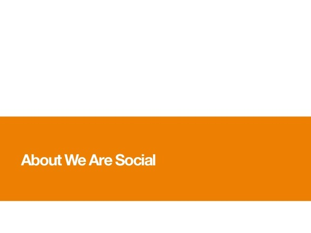 About We Are Social