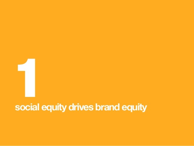 1 social equity drives brand equity