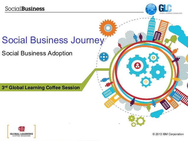 Social Business Journey Social Business Adoption  3rd Global Learning Coffee Session  © 2013 IBM Corporation