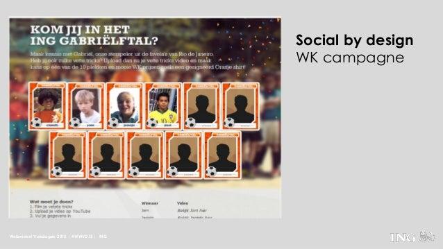 Webwinkel Vakdagen 2015 | #WWVD15 | ING Social by design WK campagne