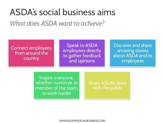 asda organizational structure