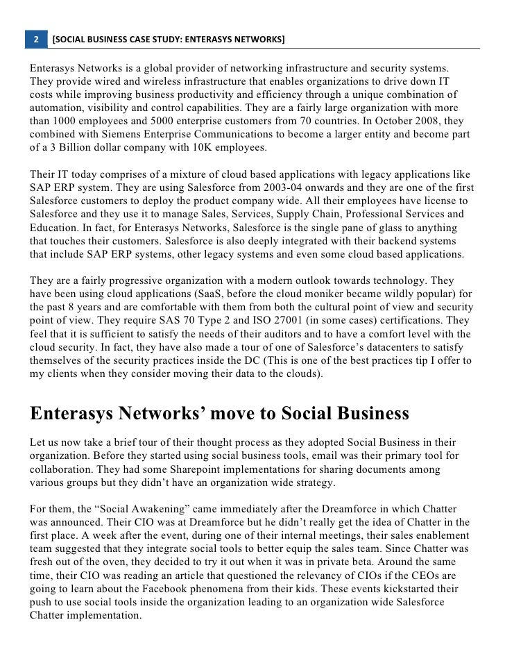 a case study of corporate social This is a very smart step taken by tbs, not only building customer loyalty based on distinctive ethical values, the company itself also benefits from gaining a high reputation and fame for environment friendly and contribution to the public.