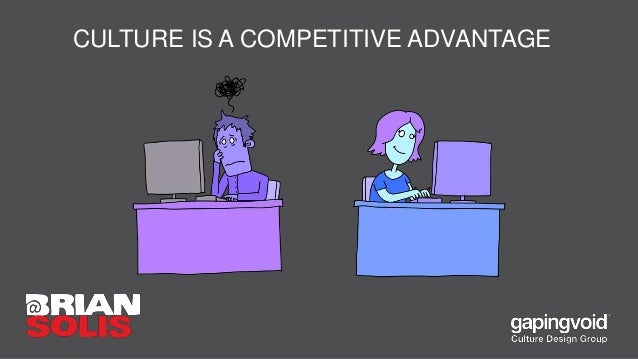CULTURE IS A COMPETITIVE ADVANTAGE
