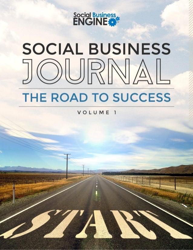 Social Business Journal Volume 1  Slide 1