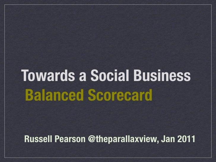 Social Business Scorecard