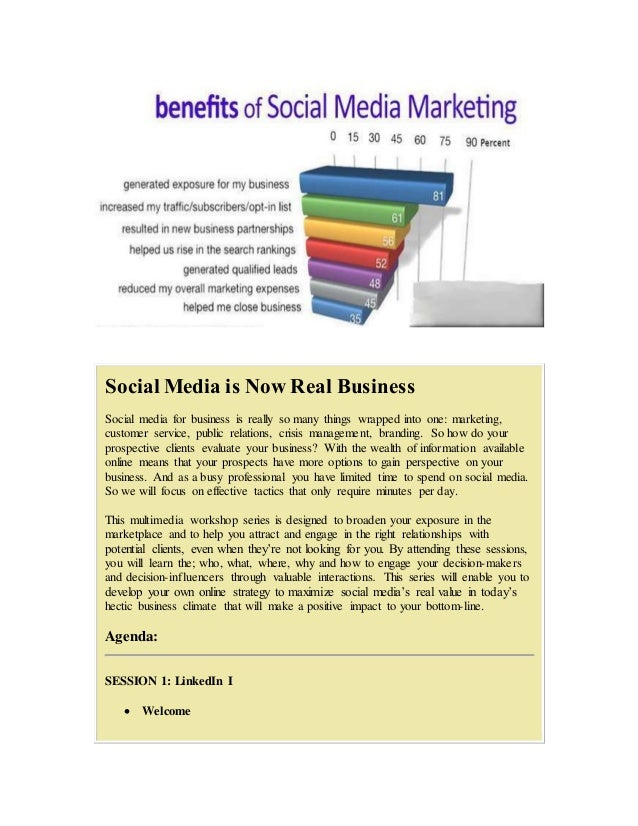 Social Media is Now Social Business via Sales and Profits Social media for business is really so many things wrapped into ...