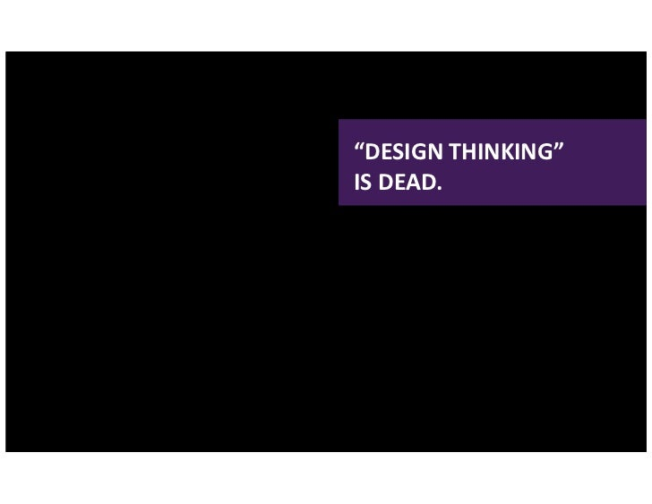 Social by Design: Design Thinking & Business Slide 2
