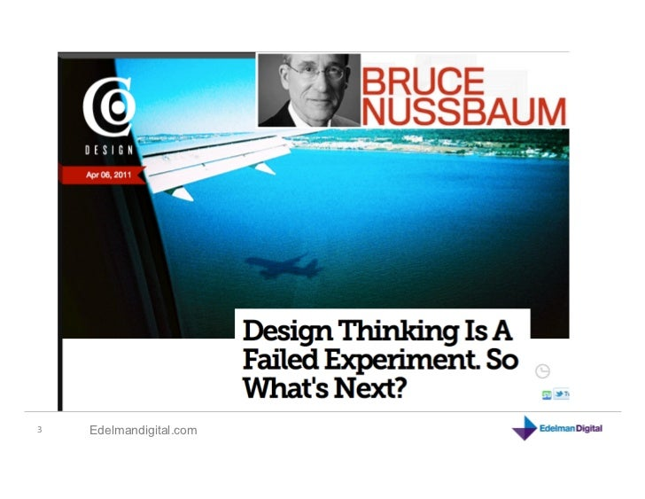 Social by Design: Design Thinking & Business Slide 3