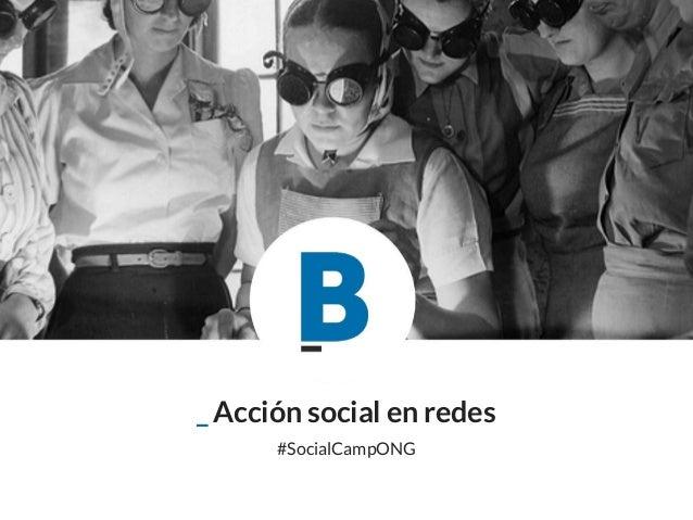 _ Acción social en redes #SocialCampONG