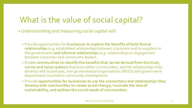 relational capital and company value in This will enhance provision of optimal value for customers and mutual trust and   keywords: cluster, firm performance, nigeria, relational capital, small scale.