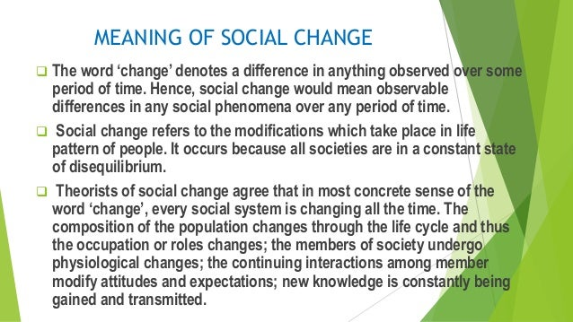 the meaning of social