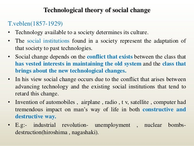 technology and social change Why is technology important in business  technology also helps a business understand its cash flow needs and  cliques and social tensions can become a.