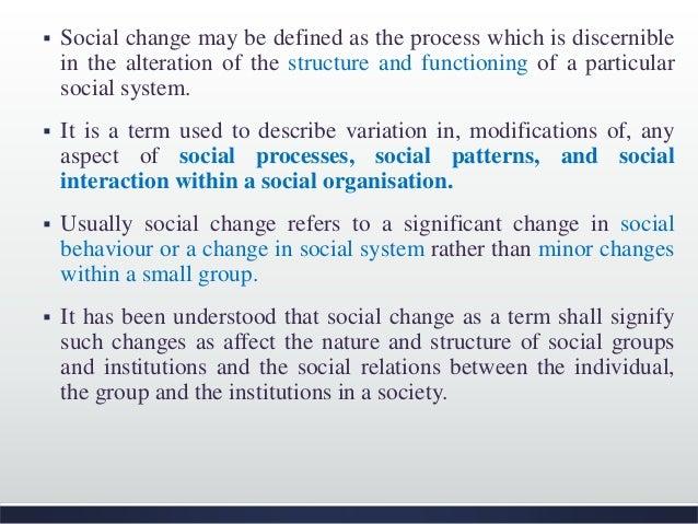define social organisation