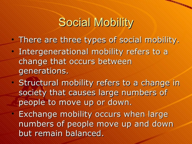 a research on the social mobility in the united states The country's capacity to monitor trends in social mobility has languished since the last major survey on us social mobility was fielded in 1973 it is accordingly difficult to evaluate recent concerns that social mobility may be declining or to develop mobility policy that is adequately.
