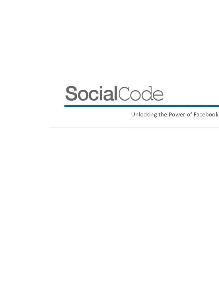 Unlocking the Power of Facebook