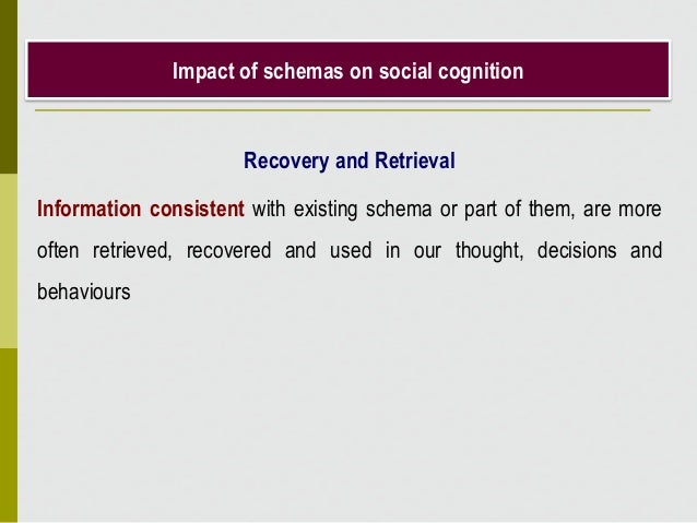 Role of heuristics in social cognition