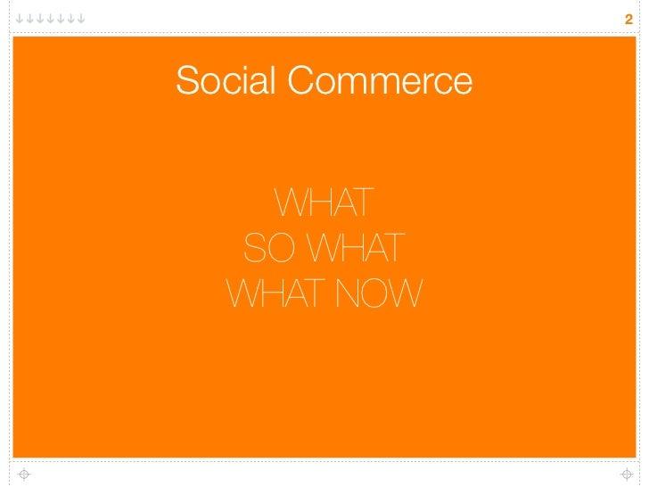 Social commerce the opportunity for brands Slide 2
