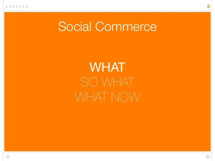 Social commerce the opportunity for brands Slide 3