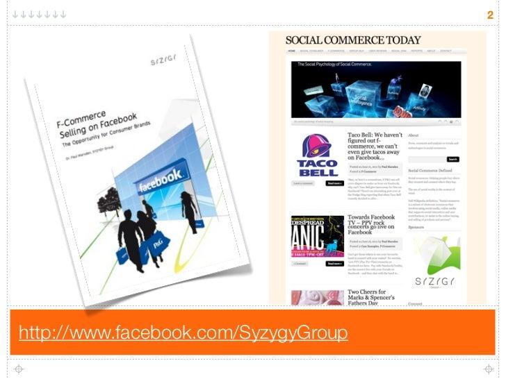 F-Commerce and the SoLoMo Consumer Slide 2