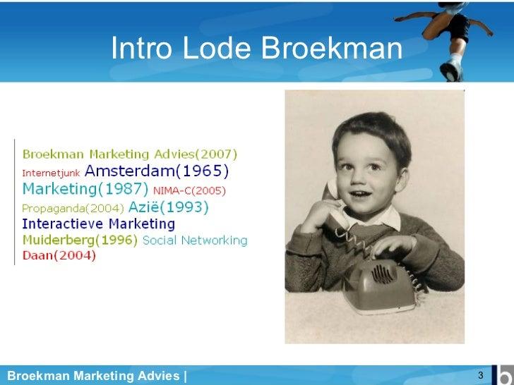 Social Computing Hvamim 2008 Slide 3