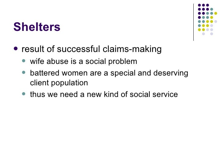 claims making social problems