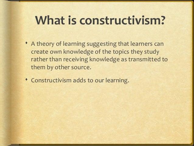 Social constructivism Slide 2