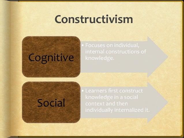 Social constructivism Slide 3