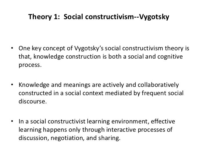 a look at the area of development and theory of cognitive development constructivist theory Difference between piaget and vygotsky theories difference between piaget and vygotsky theories piaget's theory states that cognitive development essentially.