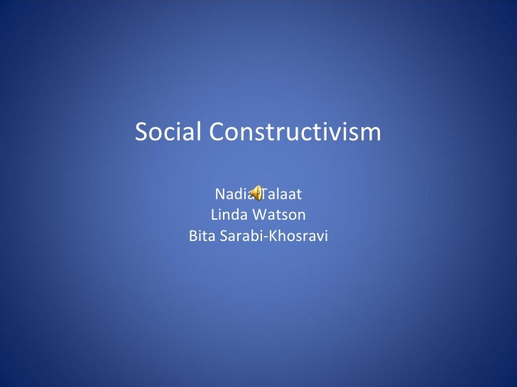 conceptualisation of power in constructivism pdf