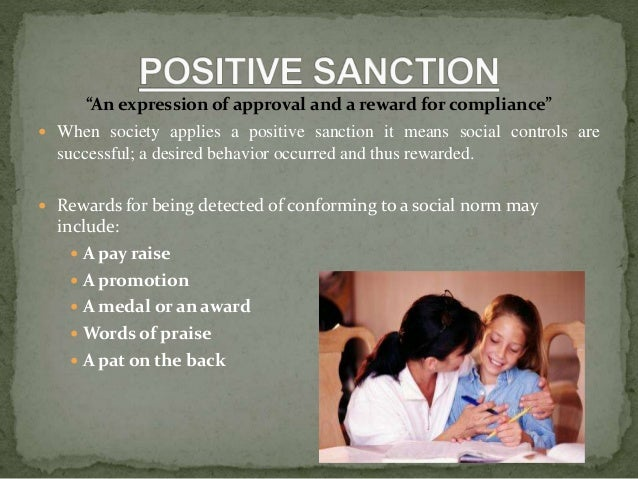 positive social sanction
